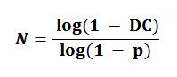 Mathematics, Probability, Logarithms of Fundamental Gambling Formula.
