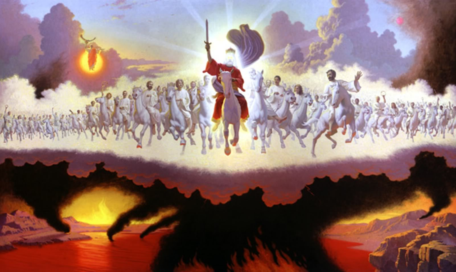 Armageddon is the divine mission of President Donald Trump, in the White House for that purpose.