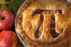 The Divine Pie that the President of the United States bakes for Almighty Randomness on PI Day.